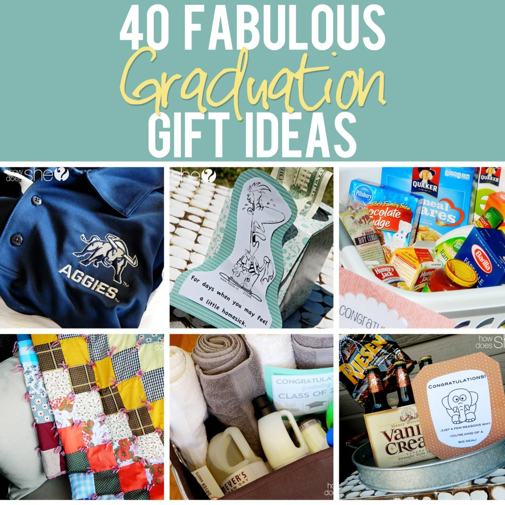 Best ideas about High School Graduation Gift Ideas . Save or Pin 40 Fabulous Graduation Gift Ideas The best list out there Now.