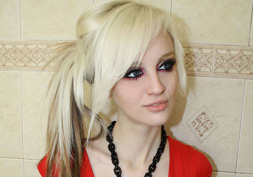 Best ideas about Hipster Girls Hairstyles . Save or Pin 29 Stupendous Scene Hairstyles For Girls Now.