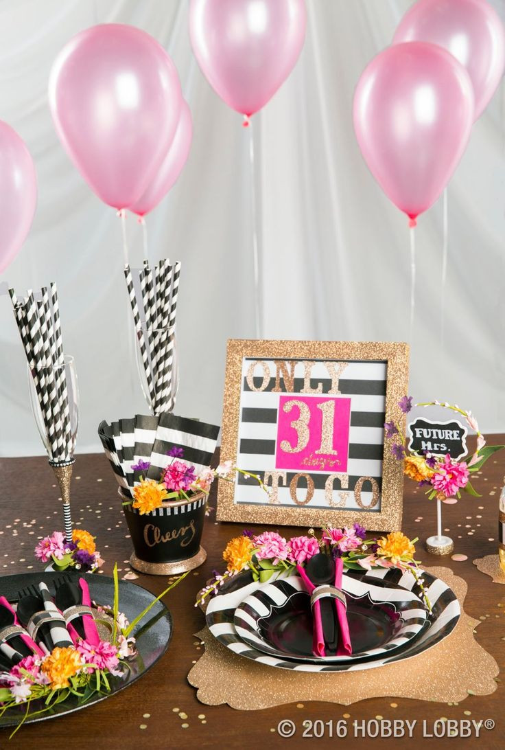 Best ideas about Hobby Lobby Birthday Decorations . Save or Pin 678 best Party Ideas images on Pinterest Now.