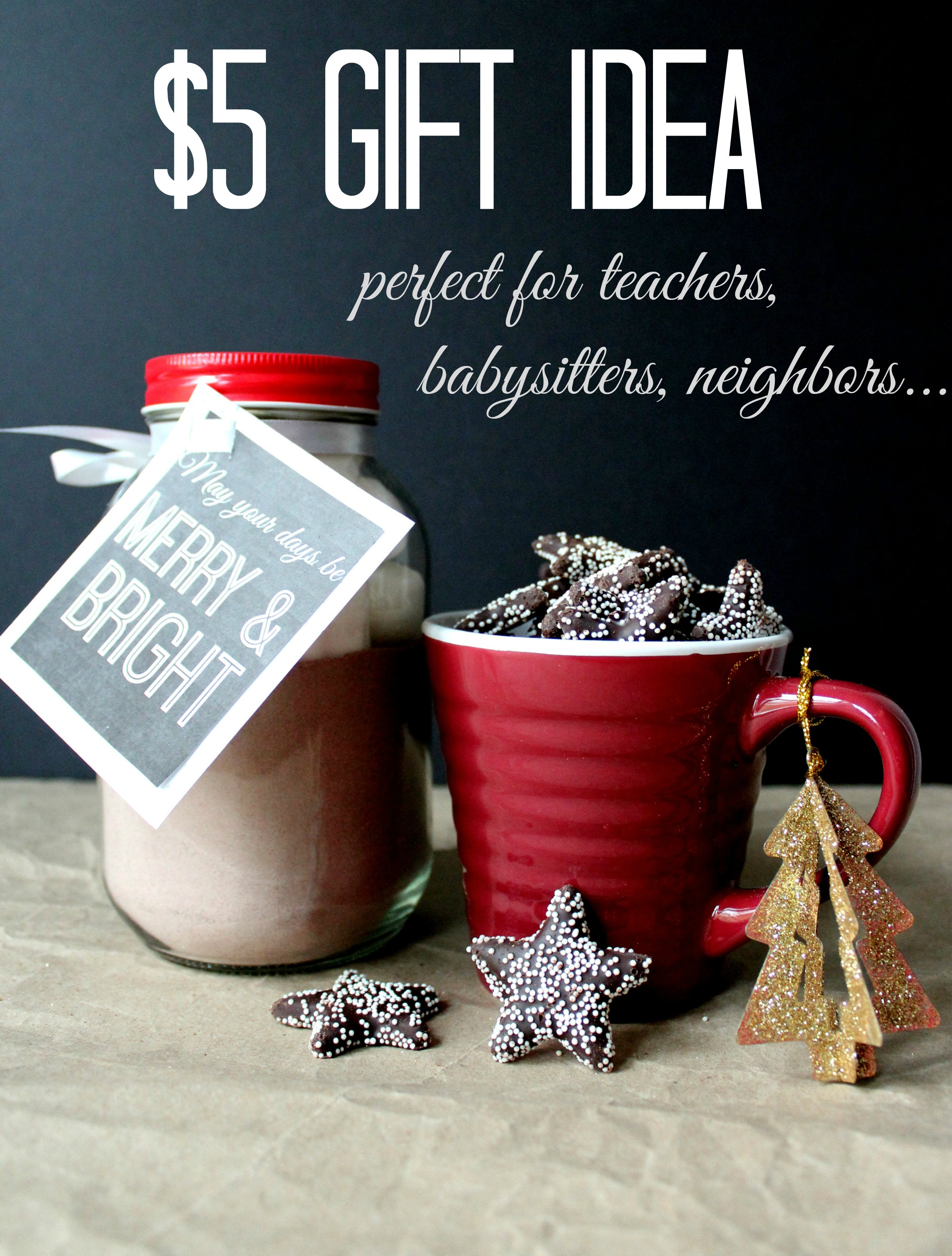 Best ideas about Holiday Gift Ideas For Coworkers . Save or Pin Simple Holiday $5 t idea Christinas Adventures Now.