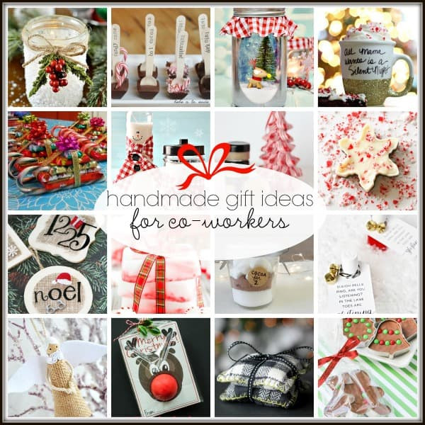 Best ideas about Holiday Gift Ideas For Coworkers . Save or Pin 20 Handmade Gift Ideas for Co Workers Now.