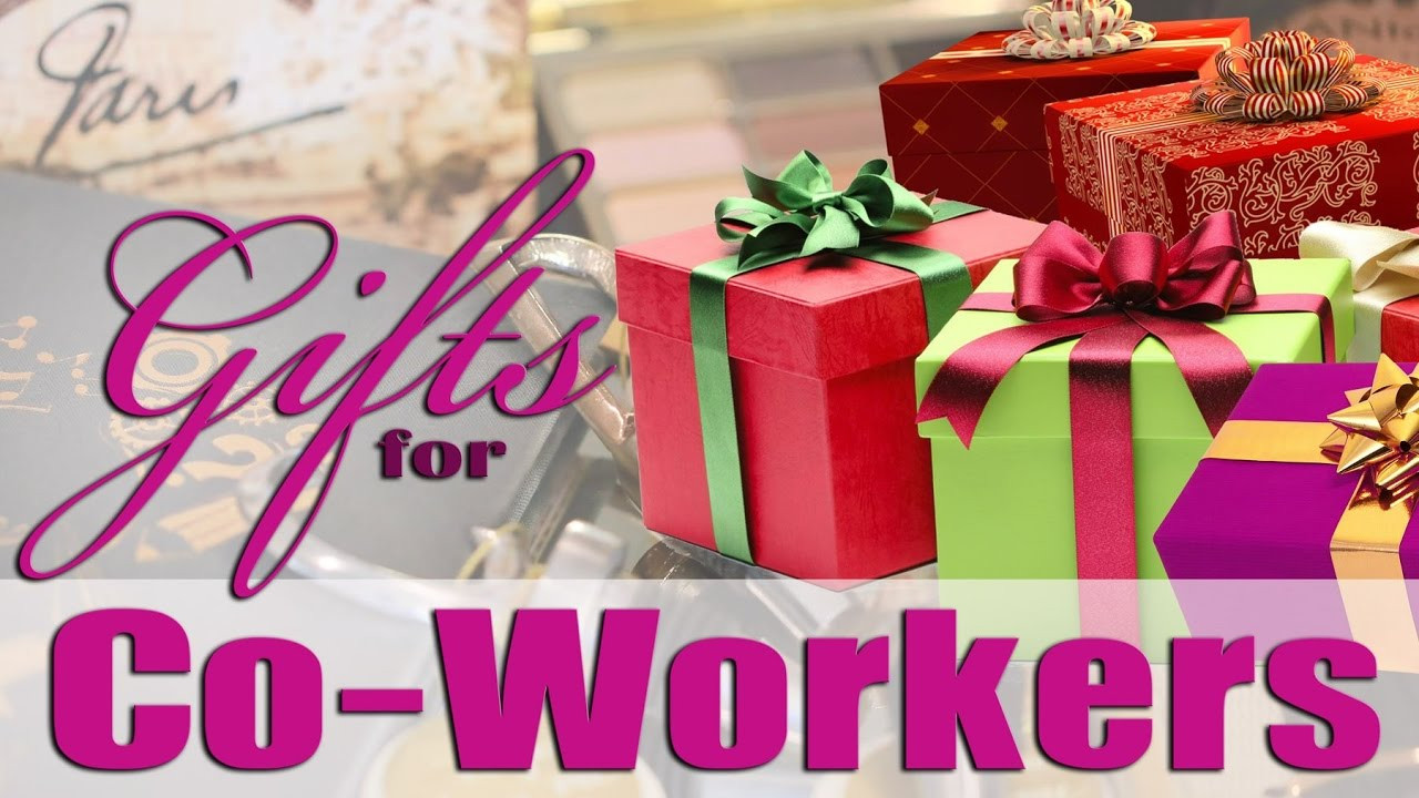 Best ideas about Holiday Gift Ideas For Coworkers . Save or Pin HOLIDAY GIFT IDEAS FOR YOUR CO WORKERS & BOSS 🎁 Now.