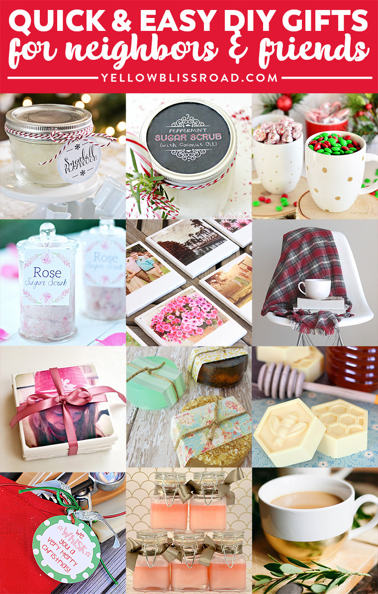 Best ideas about Holiday Gift Ideas For Friends . Save or Pin Bud Gifts Ideas for Friends and Neighbors Homemade Now.