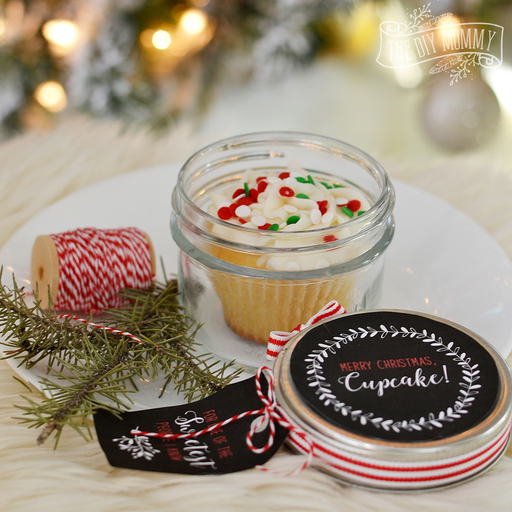 Best ideas about Holiday Gift Ideas For Friends . Save or Pin Christmas Cupcake in a Jar 16 More DIY Gift Ideas Free Now.