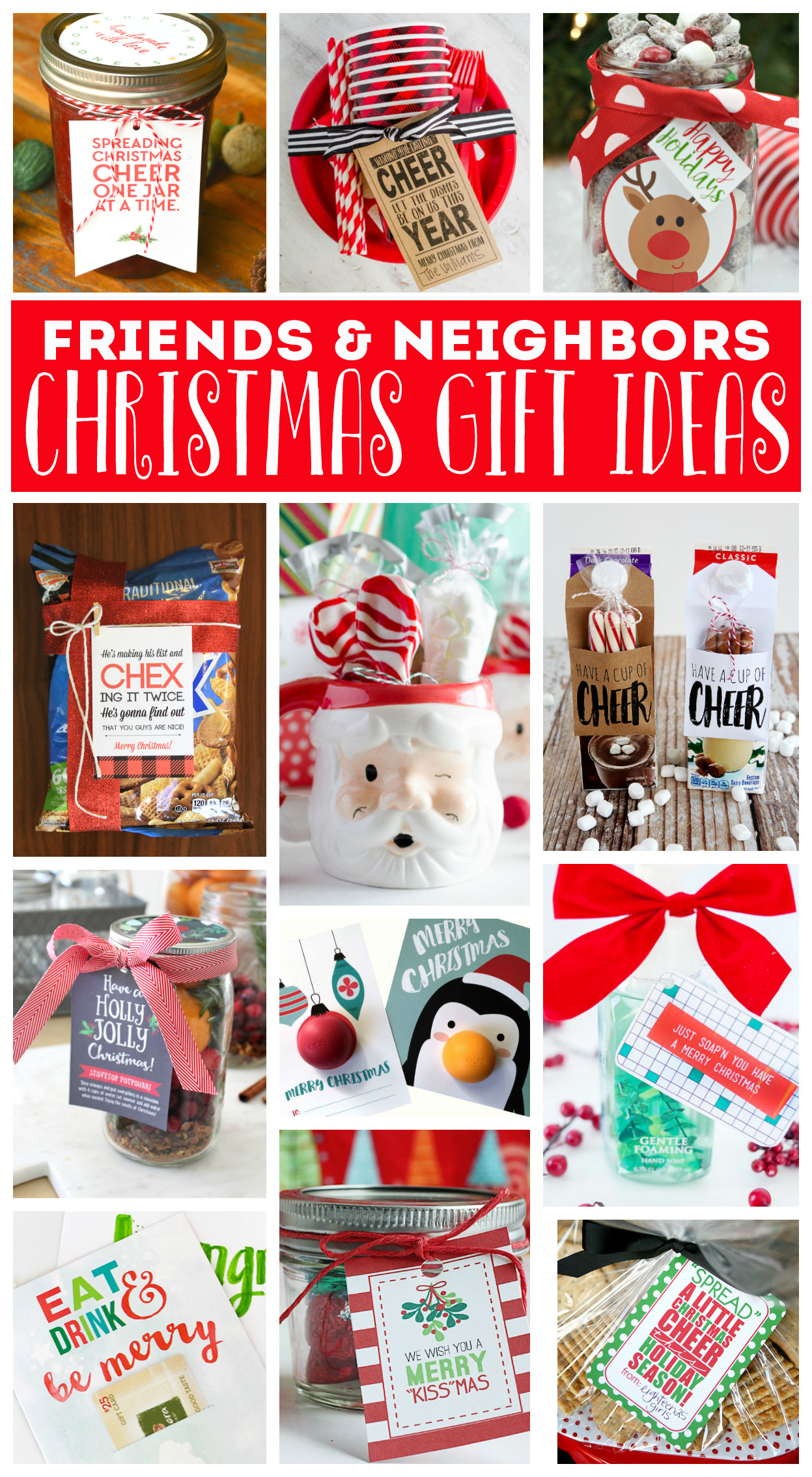 Best ideas about Holiday Gift Ideas For Friends . Save or Pin Reindeer Rice Krispies Treats Eighteen25 Now.