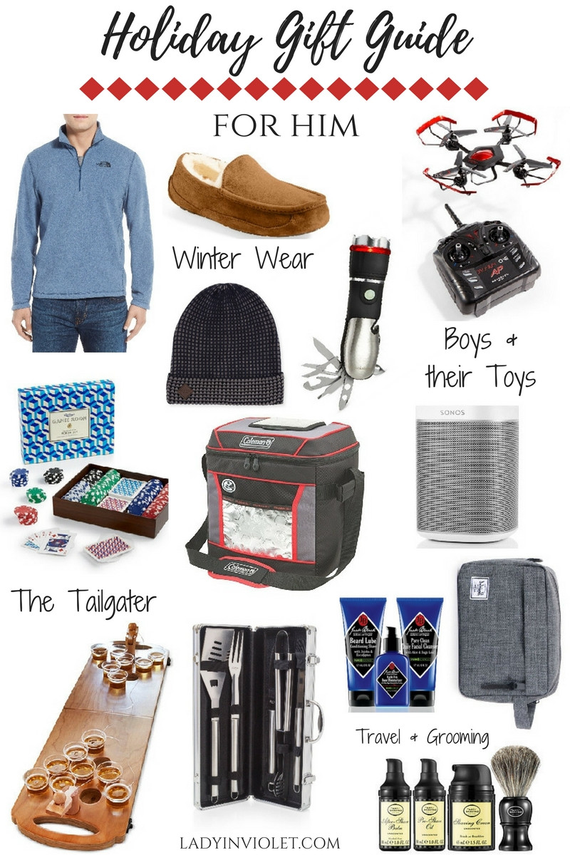 Best ideas about Holiday Gift Ideas For Him . Save or Pin Holiday Gift Guide Best Gift Ideas for Men Now.