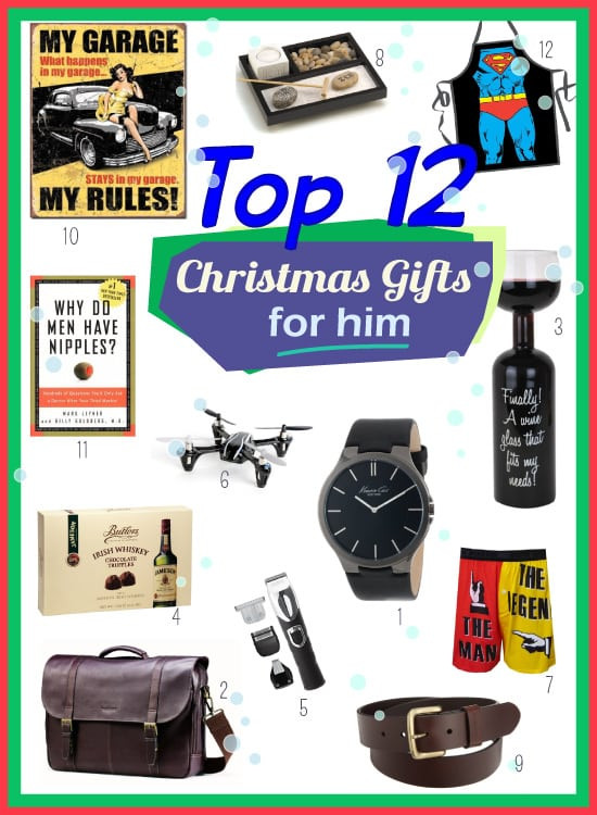 Best ideas about Holiday Gift Ideas For Him . Save or Pin Top Christmas Present Ideas for Him Vivid s Now.