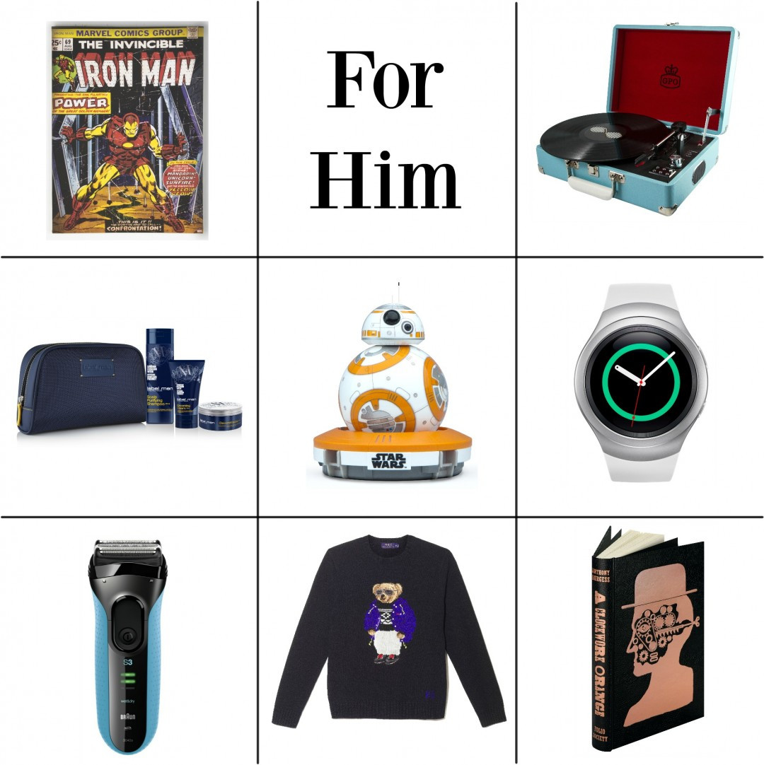 Best ideas about Holiday Gift Ideas For Him . Save or Pin Gift Ideas For Him Now.