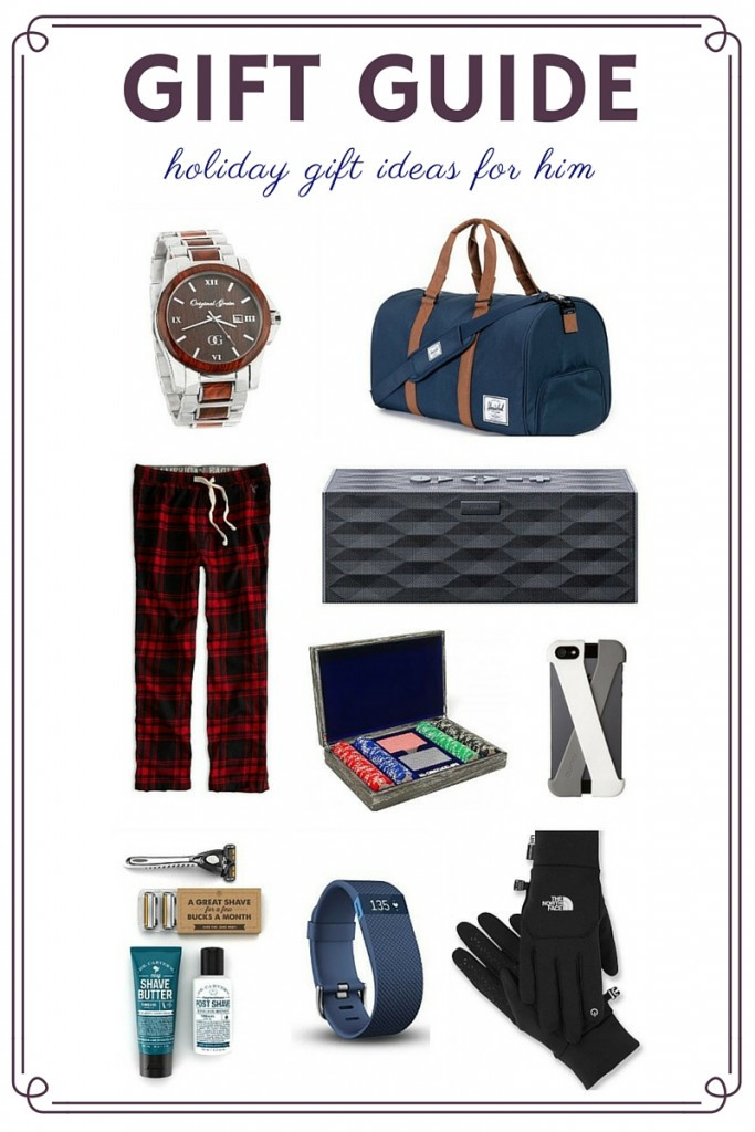Best ideas about Holiday Gift Ideas For Him . Save or Pin LIL Gift Guide Holiday 2015 For Him Now.