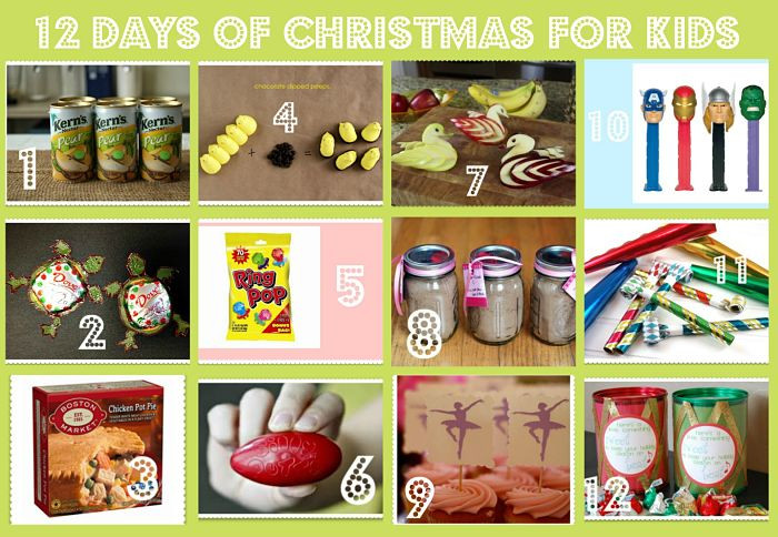 Best ideas about Holiday Gift Ideas For Kids . Save or Pin 12 Days of Christmas Gifts for Kids Now.