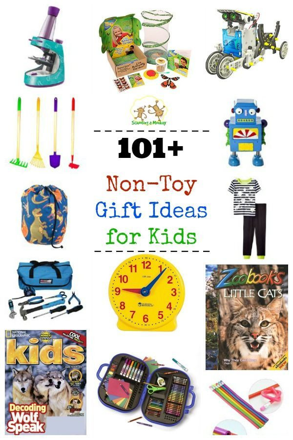 Best ideas about Holiday Gift Ideas For Kids . Save or Pin 101 Non Toy Gift Ideas for Kids Now.