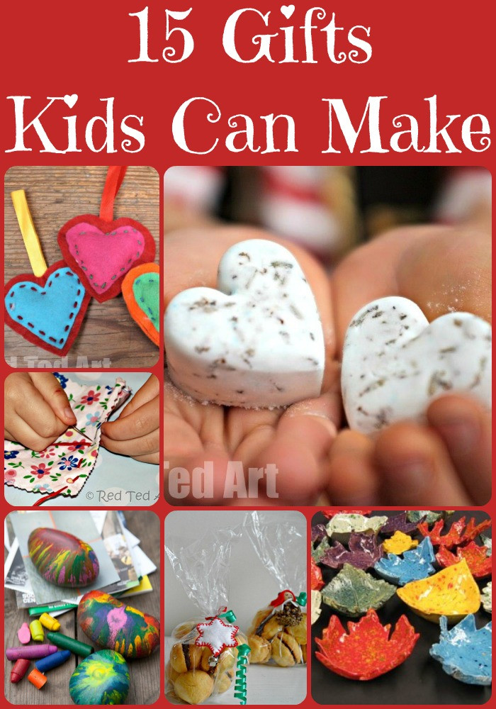 Best ideas about Holiday Gift Ideas For Kids . Save or Pin Christmas Gift Ideas for Kids To Make Red Ted Art s Blog Now.