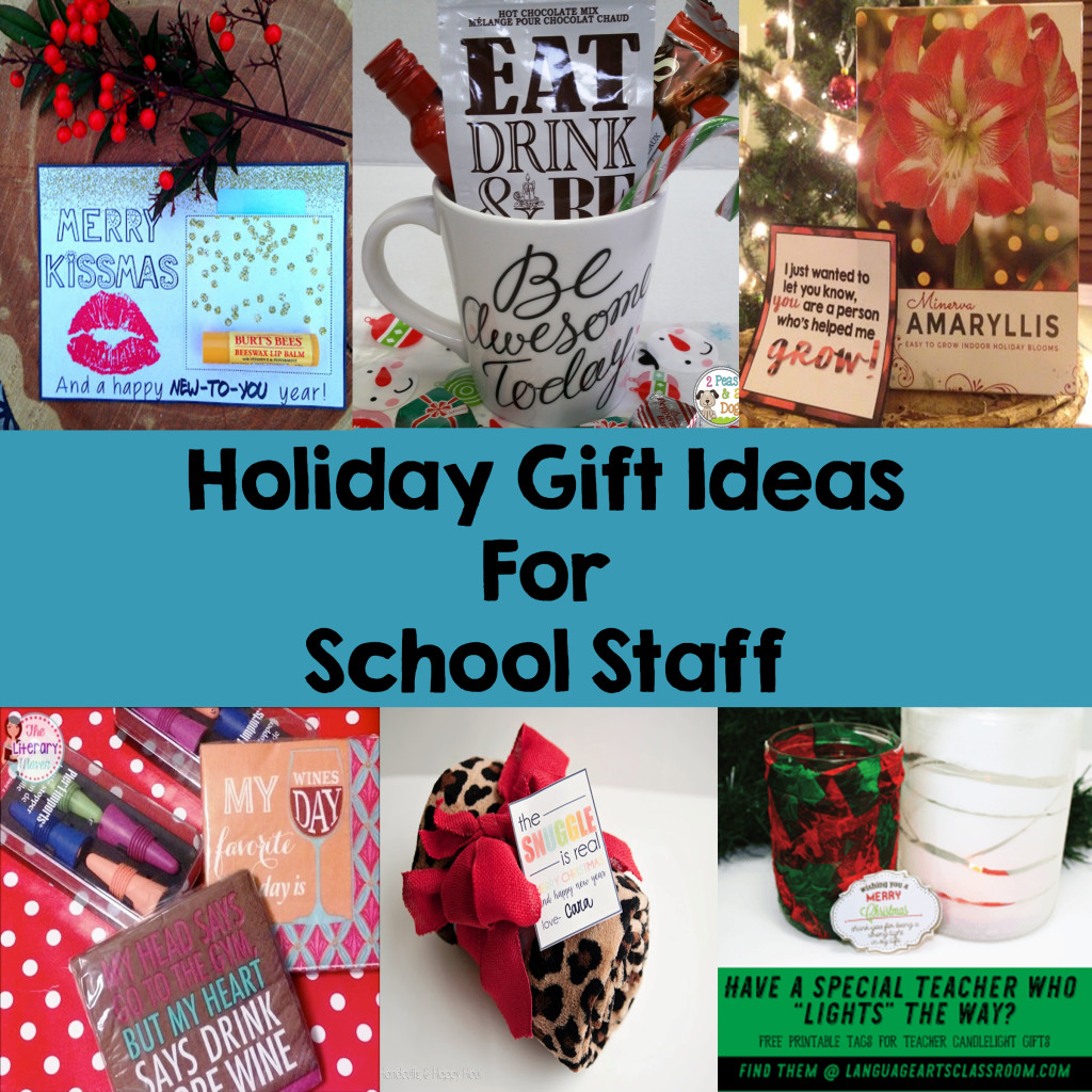 Best ideas about Holiday Gift Ideas For Staff . Save or Pin Holiday Gift Ideas for School Staff Now.