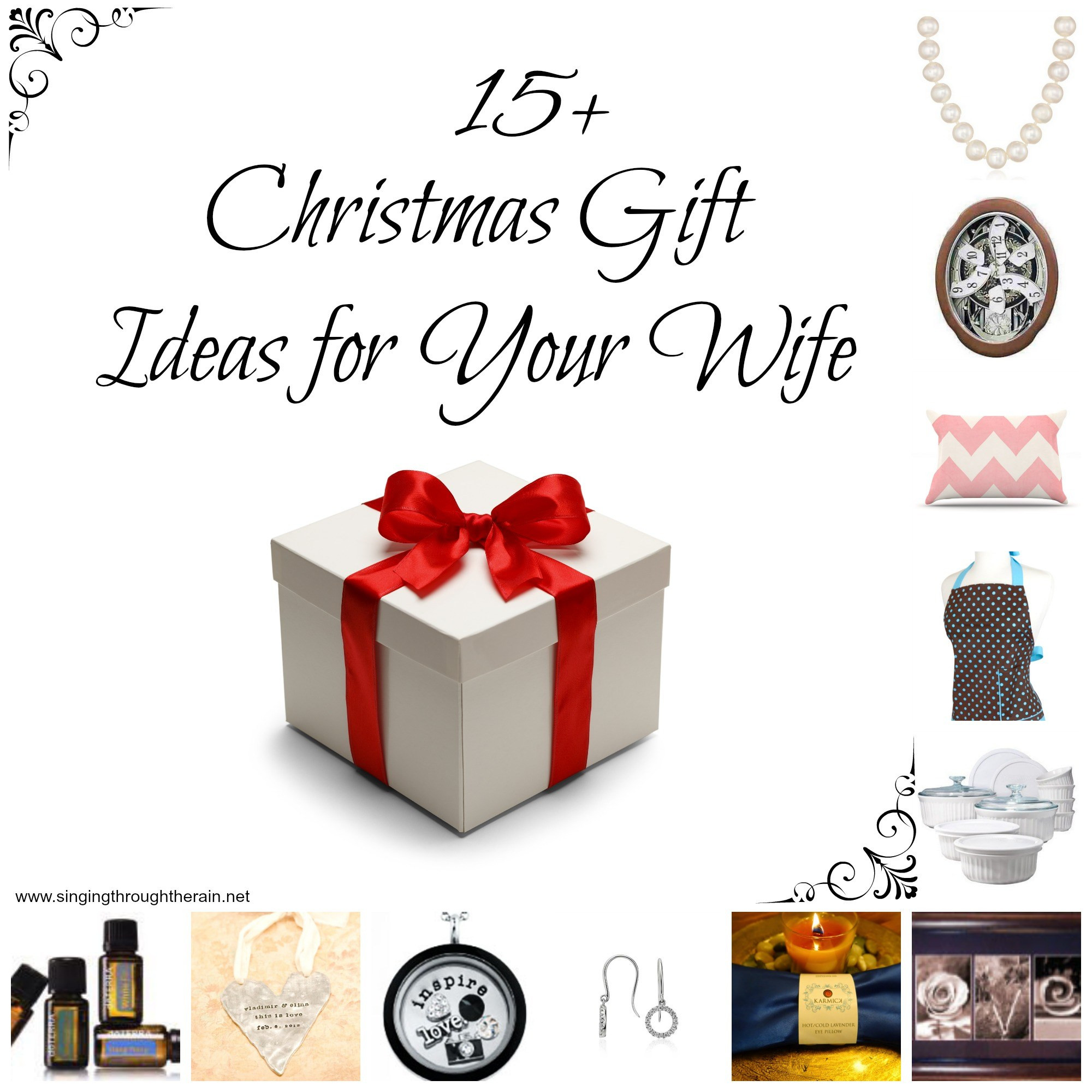 Best ideas about Holiday Gift Ideas For Wife . Save or Pin 15 Christmas Gift Ideas for Your Wife Now.