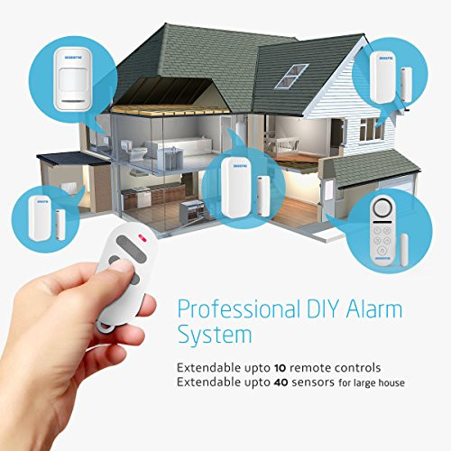 Best ideas about Home Alarm Systems DIY . Save or Pin BIBENE Door Alarm System Home Security DIY Kit 4 Zones Now.