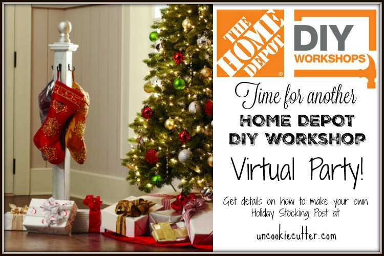 Best ideas about Home Depot DIY Workshop . Save or Pin Home Depot DIY Workshops Holiday Stocking Post Now.