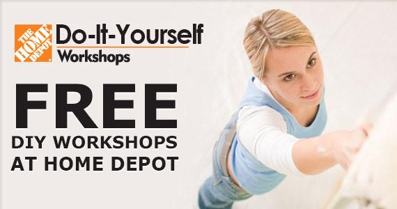 Best ideas about Home Depot DIY Workshop . Save or Pin Freebie Free DIY Workshops at Home Depot Now.
