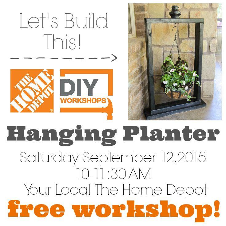 Best ideas about Home Depot DIY Workshop . Save or Pin The Home Depot Fall DIY Workshop Save the Date — Decor Now.