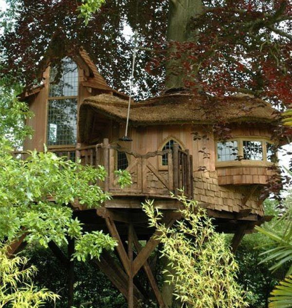 Best ideas about Home For Adults . Save or Pin Tree Houses for Adults 40 pics Now.