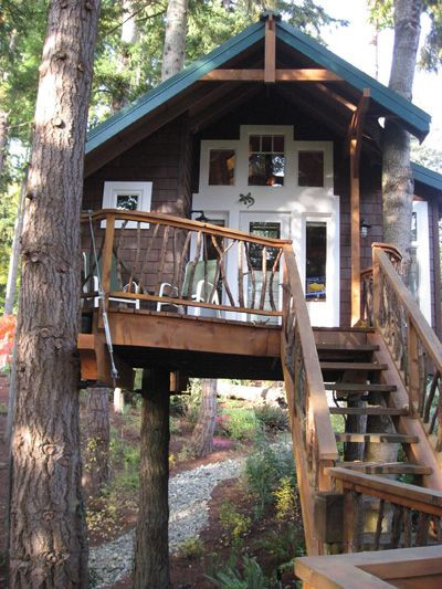 Best ideas about Home For Adults . Save or Pin Adult Tree Houses Hey Kids Make Like a Tree and Leaf Now.