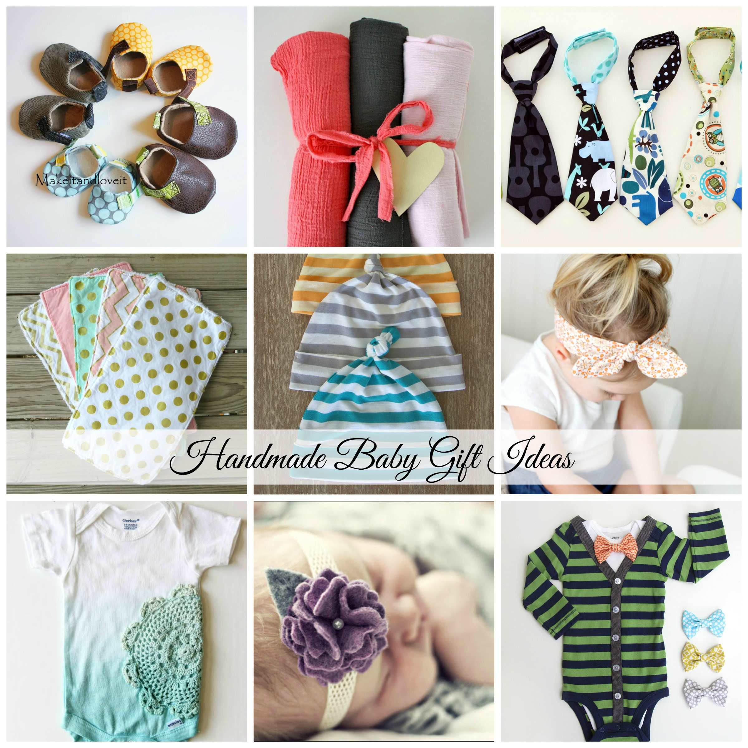 Best ideas about Homemade Baby Gift Ideas . Save or Pin Handmade Baby Gift Ideas Now.
