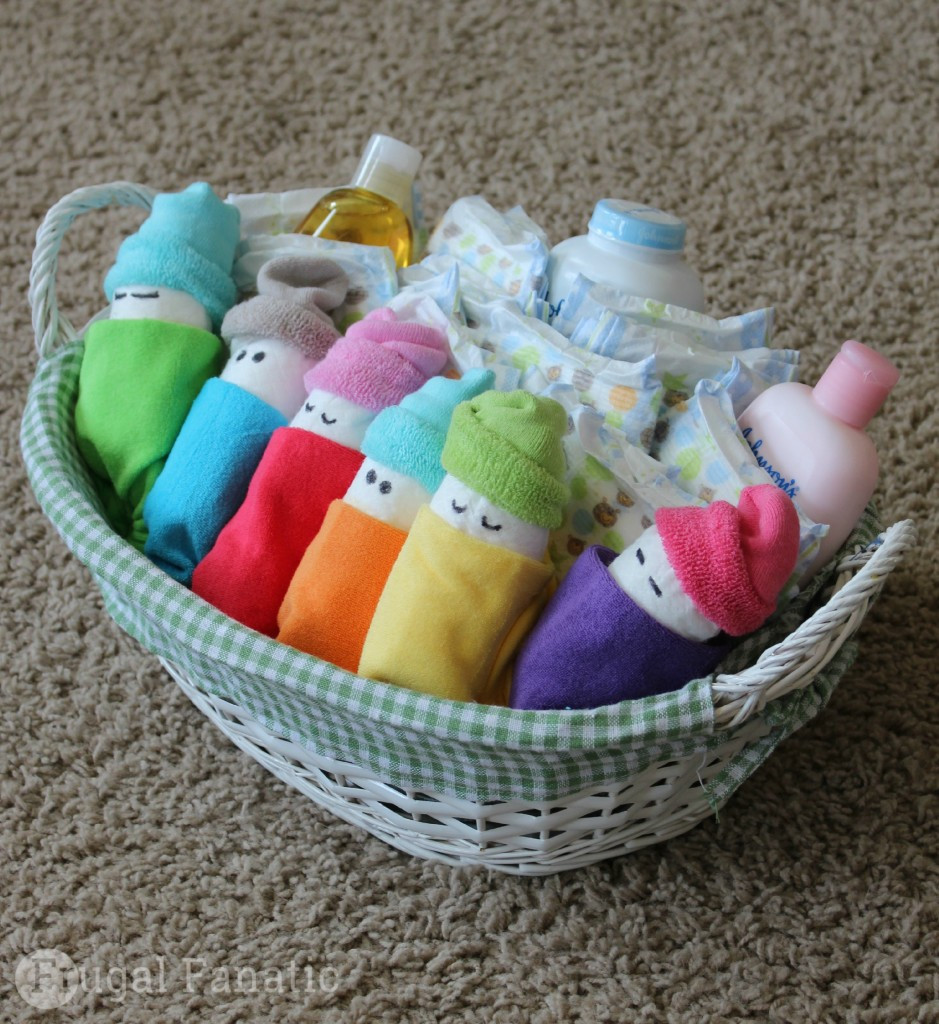 Best ideas about Homemade Baby Gift Ideas . Save or Pin How To Make Diaper Babies Easy Baby Shower Gift Idea Now.