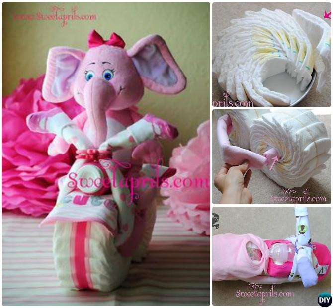Best ideas about Homemade Baby Shower Gift Ideas . Save or Pin Handmade Baby Shower Gift Ideas [Picture Instructions] Now.