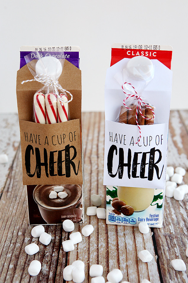Best ideas about Homemade Cheer Gift Ideas . Save or Pin Neighbor Christmas Gift Ideas Eighteen25 Now.