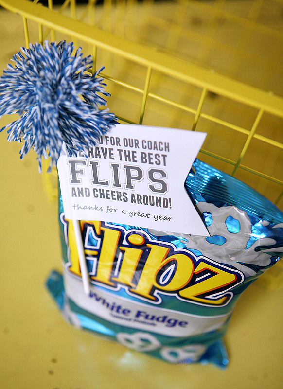 Best ideas about Homemade Cheer Gift Ideas . Save or Pin quick and easy cheer ts Eighteen25 Now.