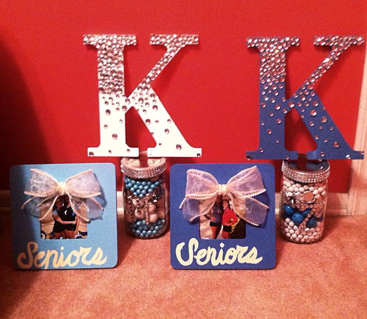 Best ideas about Homemade Cheer Gift Ideas . Save or Pin Senior night ts Cheer ts and Volleyball on Pinterest Now.