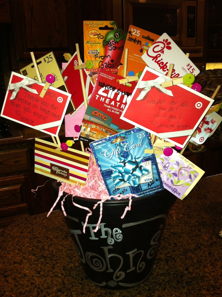 Best ideas about Homemade Cheer Gift Ideas . Save or Pin 172 best images about Coach ts on Pinterest Now.