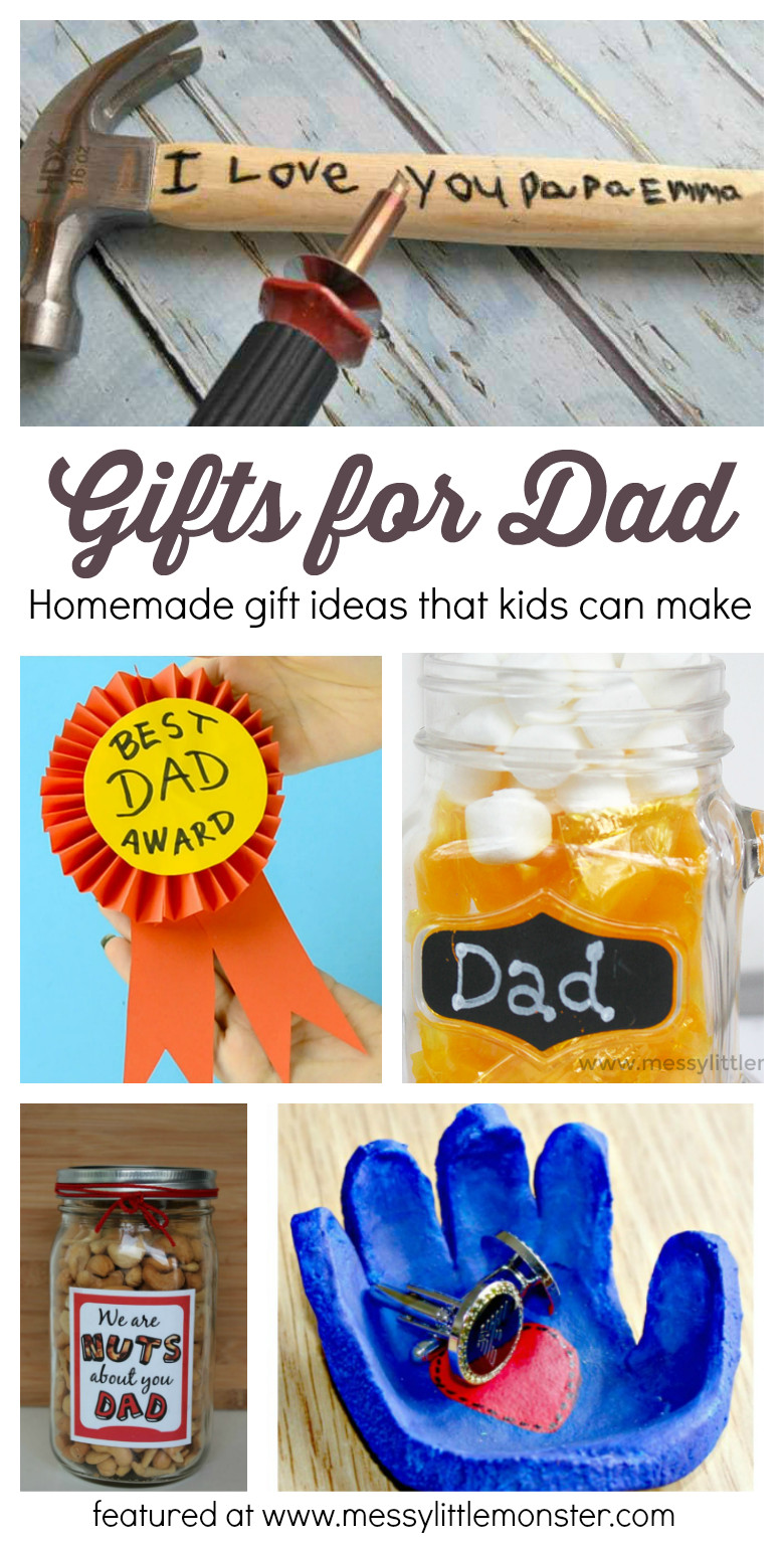Best ideas about Homemade Gift Ideas For Daddy . Save or Pin Gifts For Dad From Kids Homemade Gift Ideas That Kids Now.