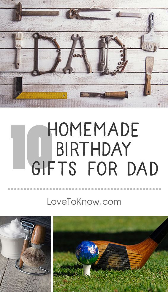 Best ideas about Homemade Gift Ideas For Daddy . Save or Pin Homemade birthday ts are a thoughtful way for kids to Now.