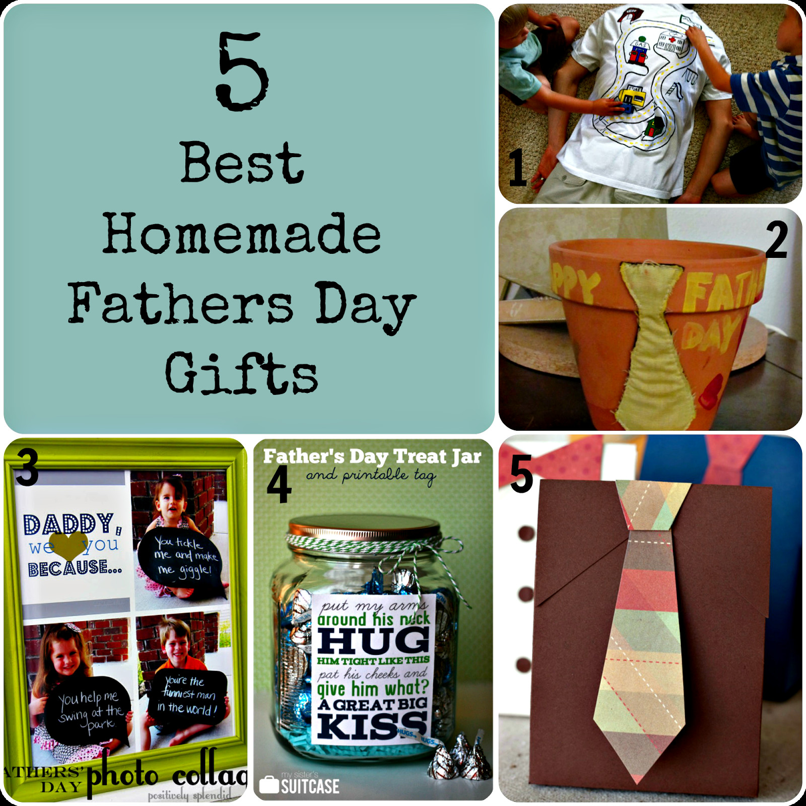 Best ideas about Homemade Gift Ideas For Daddy . Save or Pin 5 Best homemade Fathers Day Gifts Now.