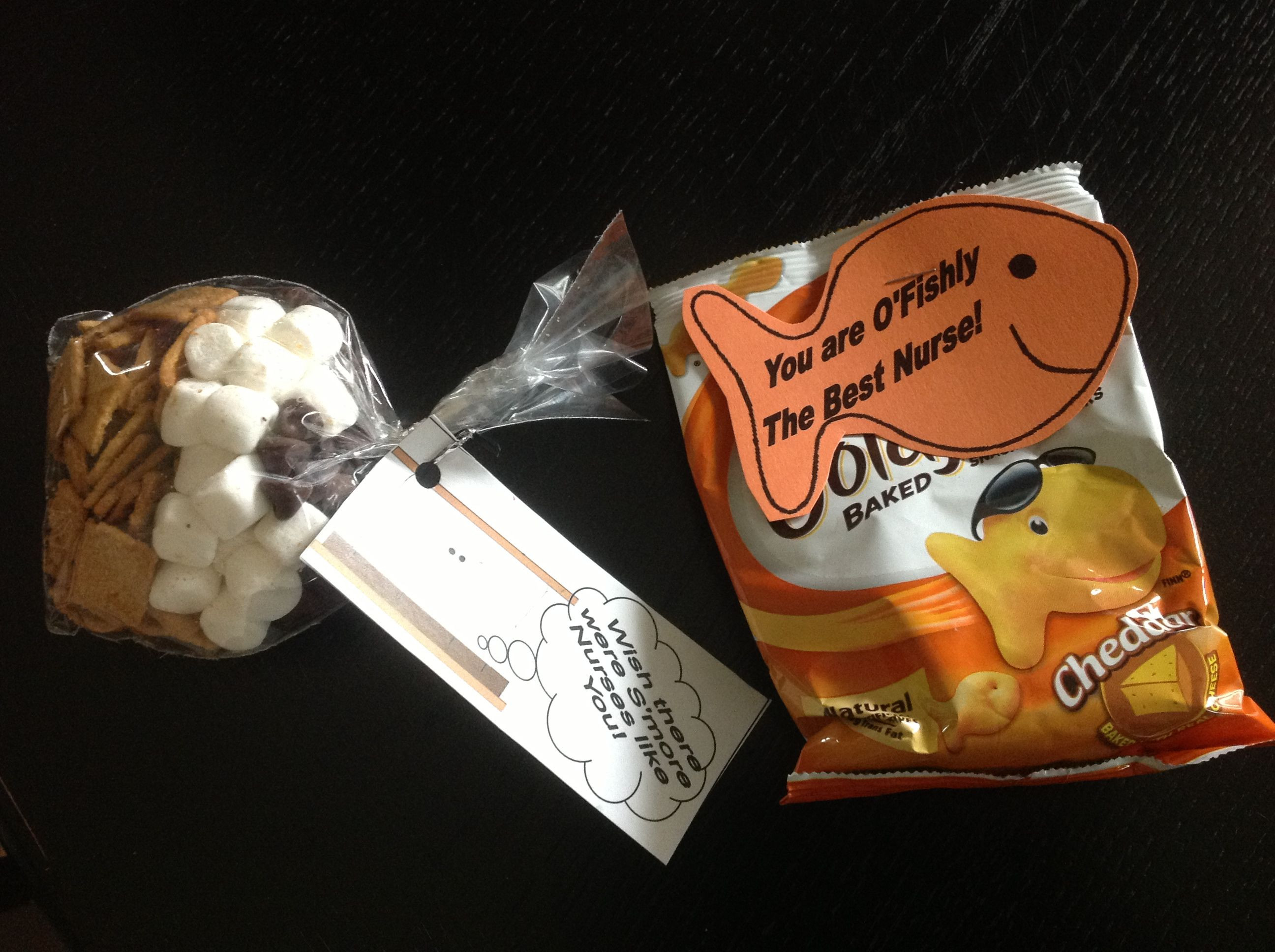 Best ideas about Homemade Nurses Week Gift Ideas . Save or Pin Nurses week snacks DIY & Crafts Pinterest Now.