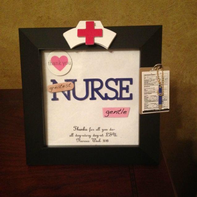 Best ideas about Homemade Nurses Week Gift Ideas . Save or Pin 17 Best images about Nurses Day Gift Ideas on Pinterest Now.
