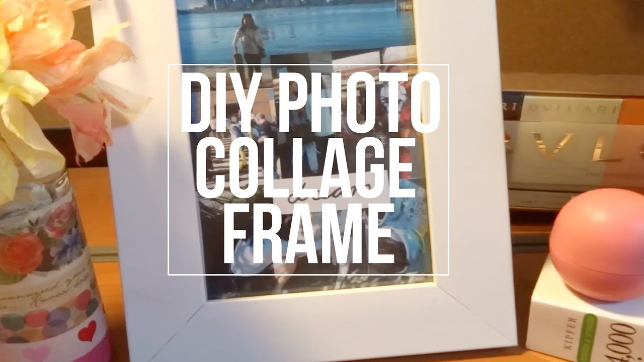 Best ideas about Homemade Photo Gift Ideas . Save or Pin DIY Collage Frame|ROOMSPIRATION t ideas Now.