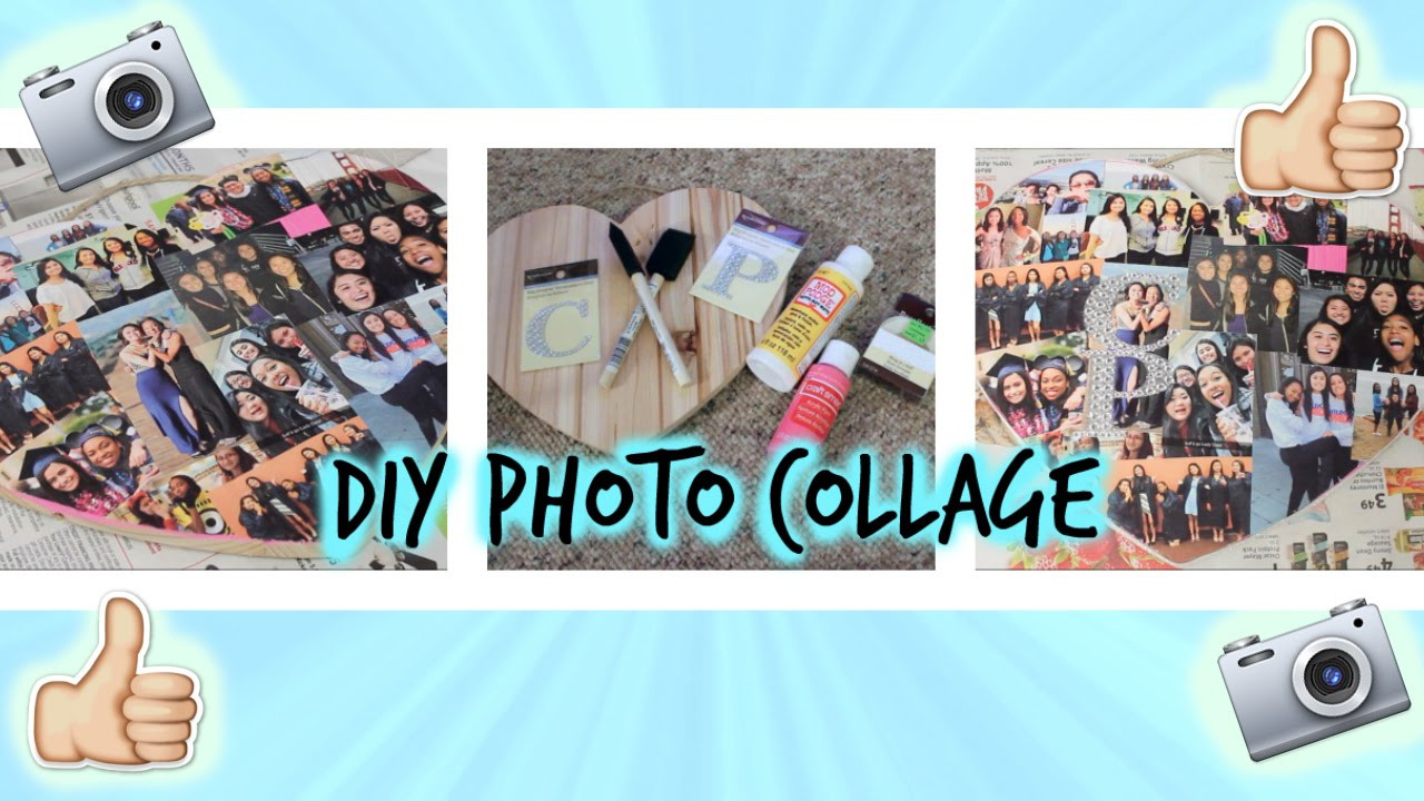 Best ideas about Homemade Photo Gift Ideas . Save or Pin DIY Collage⎜Perfect Gift For a Friend Now.