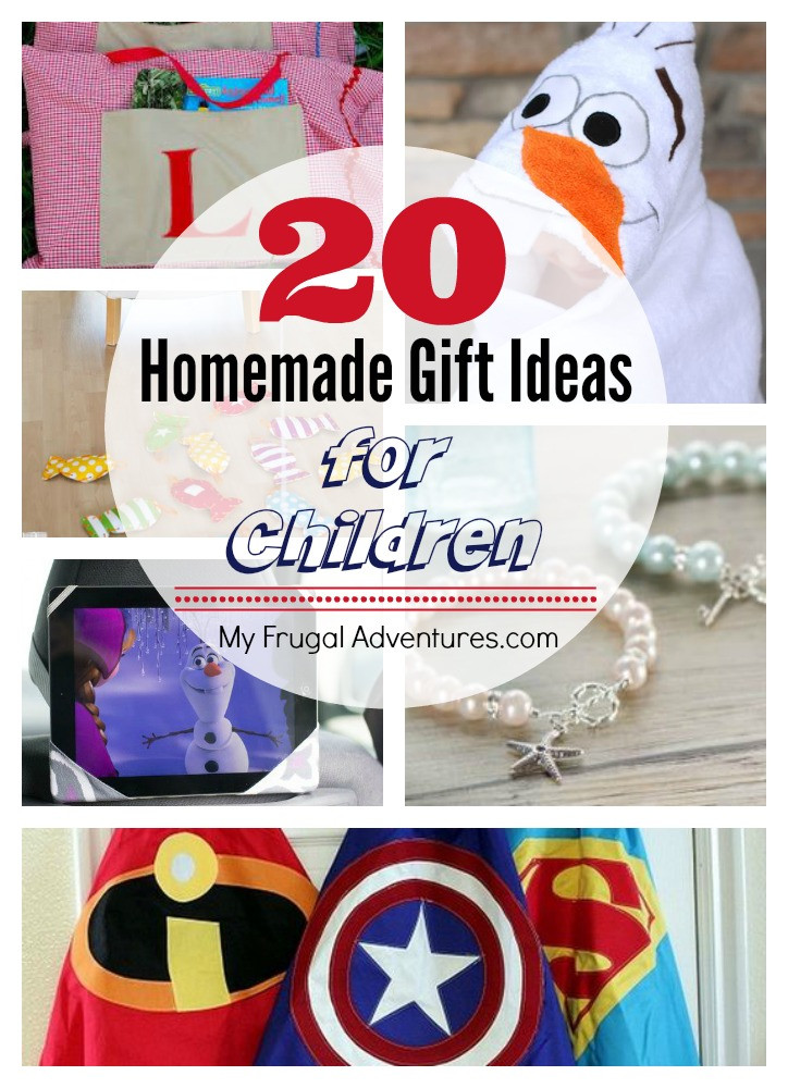 Best ideas about Homemade Photo Gift Ideas . Save or Pin 20 AWESOME Homemade Gift Ideas for Children My Frugal Now.