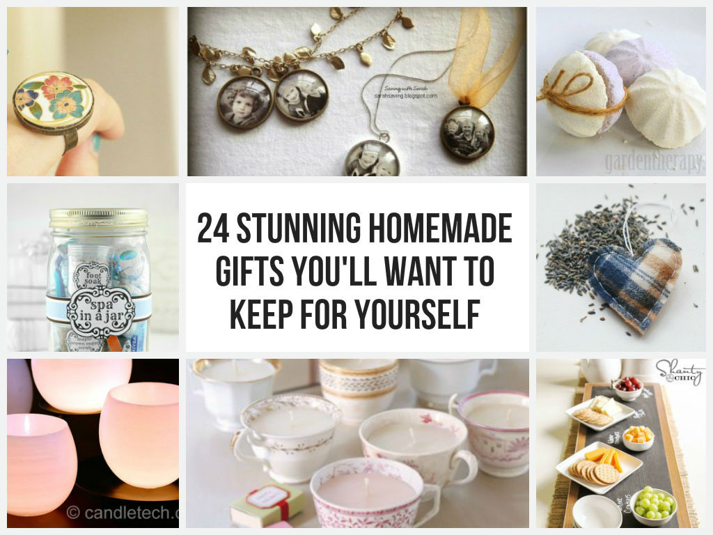Best ideas about Homemade Photo Gift Ideas . Save or Pin 24 Stunning Homemade Gifts You ll Want To Keep For Yourself Now.