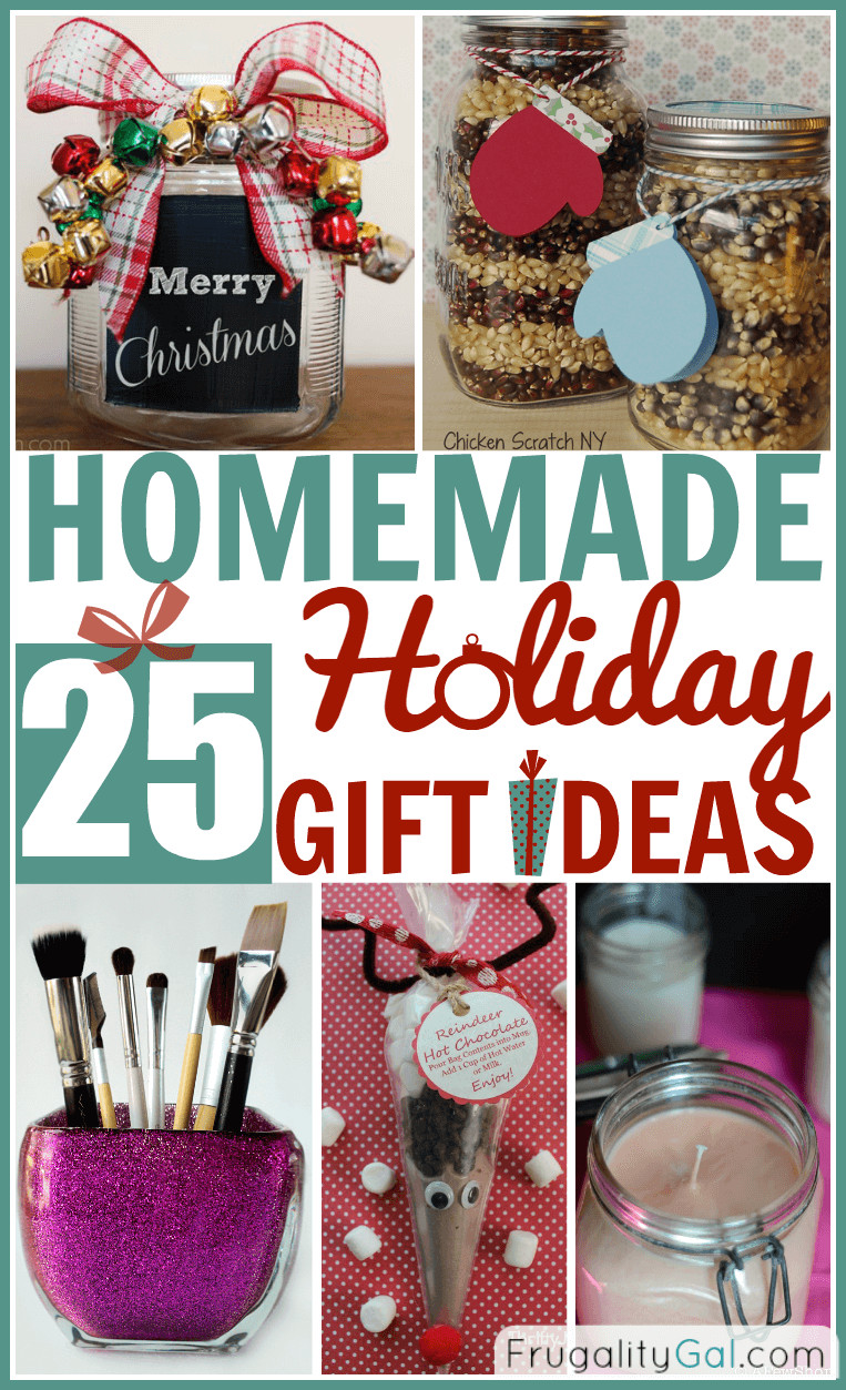 Best ideas about Homemade Photo Gift Ideas . Save or Pin 25 Homemade Holiday Gifts Now.