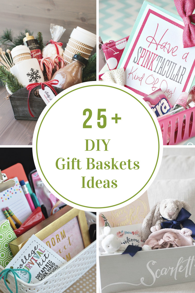 Best ideas about Homemade Photo Gift Ideas . Save or Pin DIY Gift Basket Ideas The Idea Room Now.