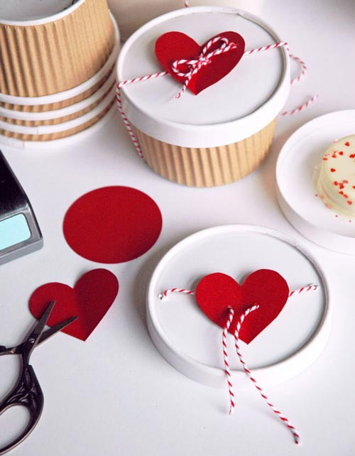 Best ideas about Homemade Valentine Gift Ideas . Save or Pin 7 Adorable DIY for Valentine's Day — Eatwell101 Now.