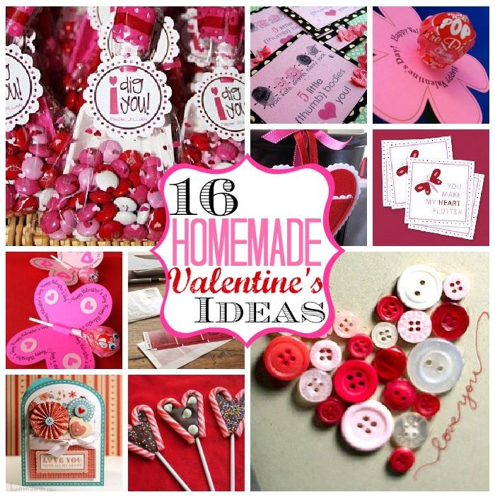 Best ideas about Homemade Valentine Gift Ideas . Save or Pin 16 Homemade Valentine's Ideas Now.