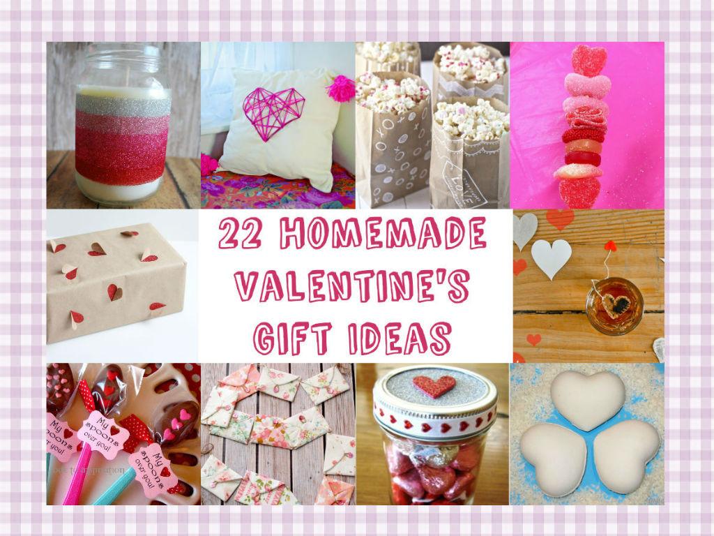 Best ideas about Homemade Valentine Gift Ideas . Save or Pin 22 Homemade Valentine s Gift Ideas Now.