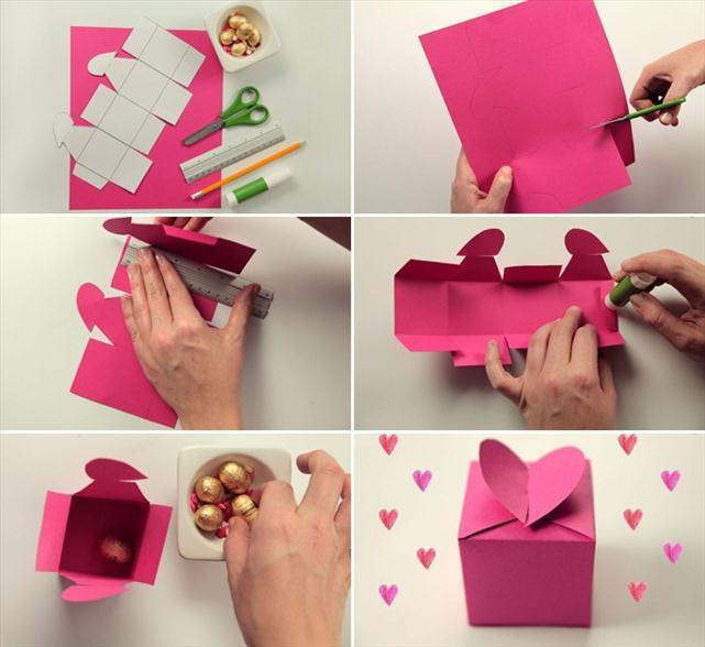 Best ideas about Homemade Valentine Gift Ideas . Save or Pin homemade valentine ts wrapping ideas box tutorial heart Now.