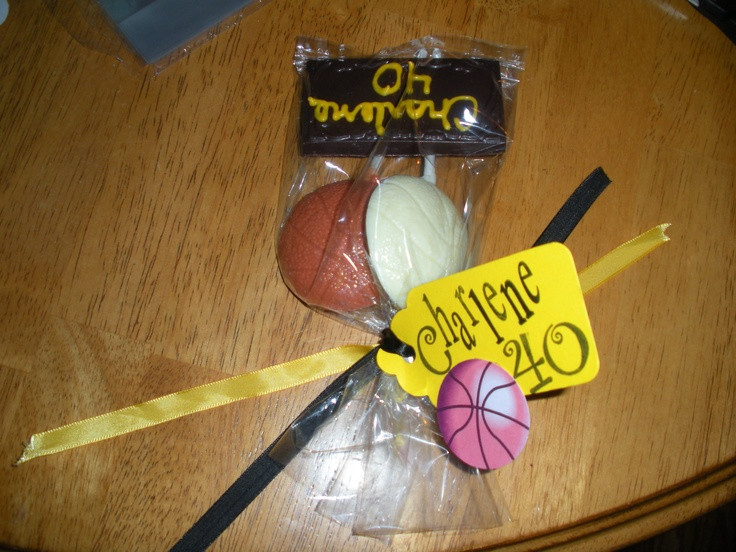 Best ideas about Homemade Volleyball Gift Ideas . Save or Pin finished volleyball t bags Now.
