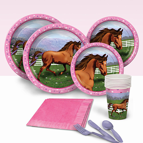 Best ideas about Horse Birthday Party Supplies . Save or Pin Horse Birthday Party Supplies Theme Party Packs Now.