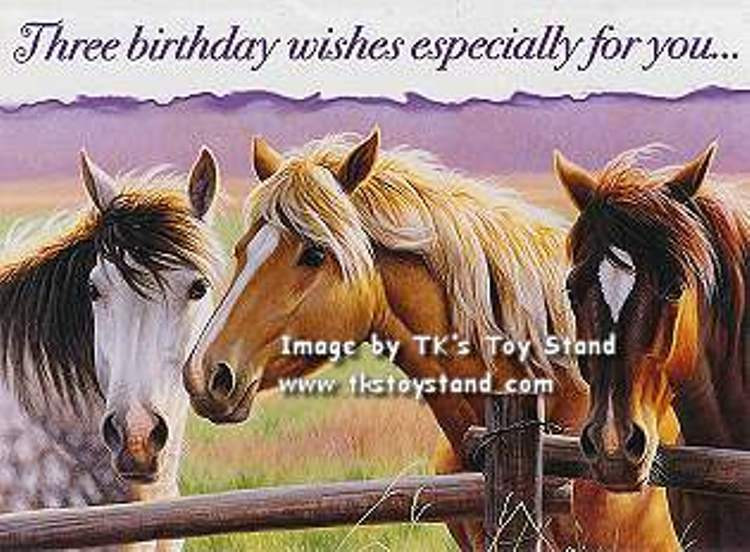 Best ideas about Horse Birthday Wishes . Save or Pin 48 Birthday Wishes With Horse Greetings & WishMeme Now.