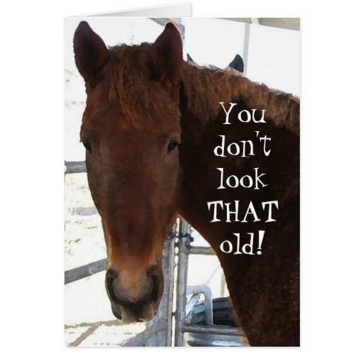Best ideas about Horse Birthday Wishes . Save or Pin Funny Birthday pliment TWH Horse Western Now.